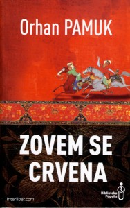 ZOVEM SE CRVENA - Orhan Pamuk